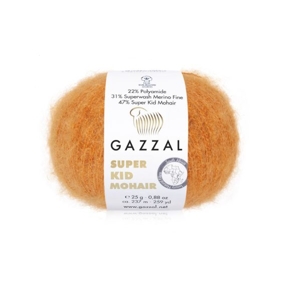 Gazzal Super Kid Mohair - Tesma.by