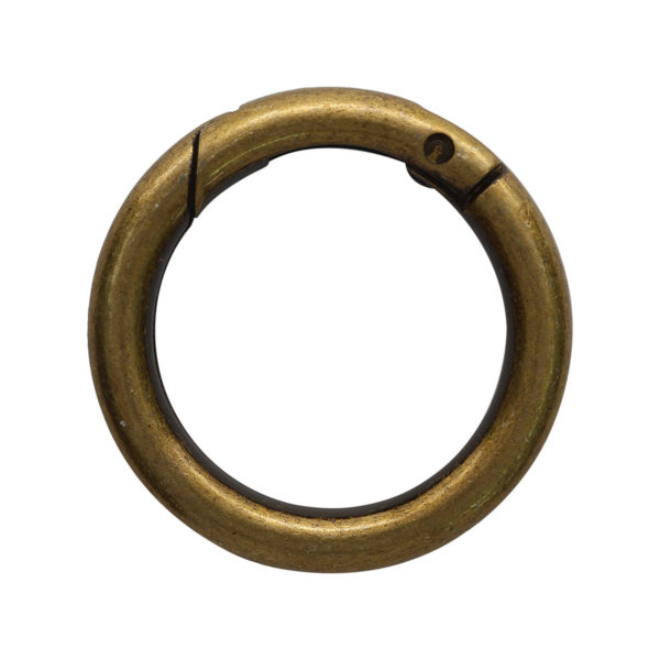 kolco karabin chernii nikel 32mm - Tesma.by